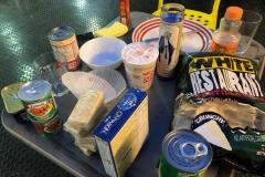comida de FEMA