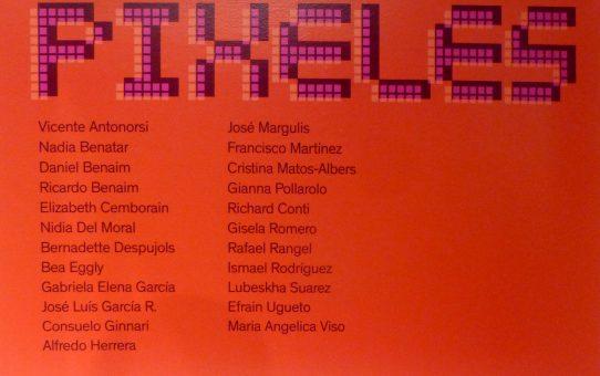 """PIXELES"" Galeria IMAGO, Coral Gables, Miami, Florida."