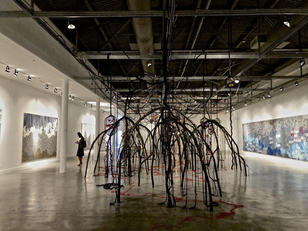 instalation by Mira Lehr