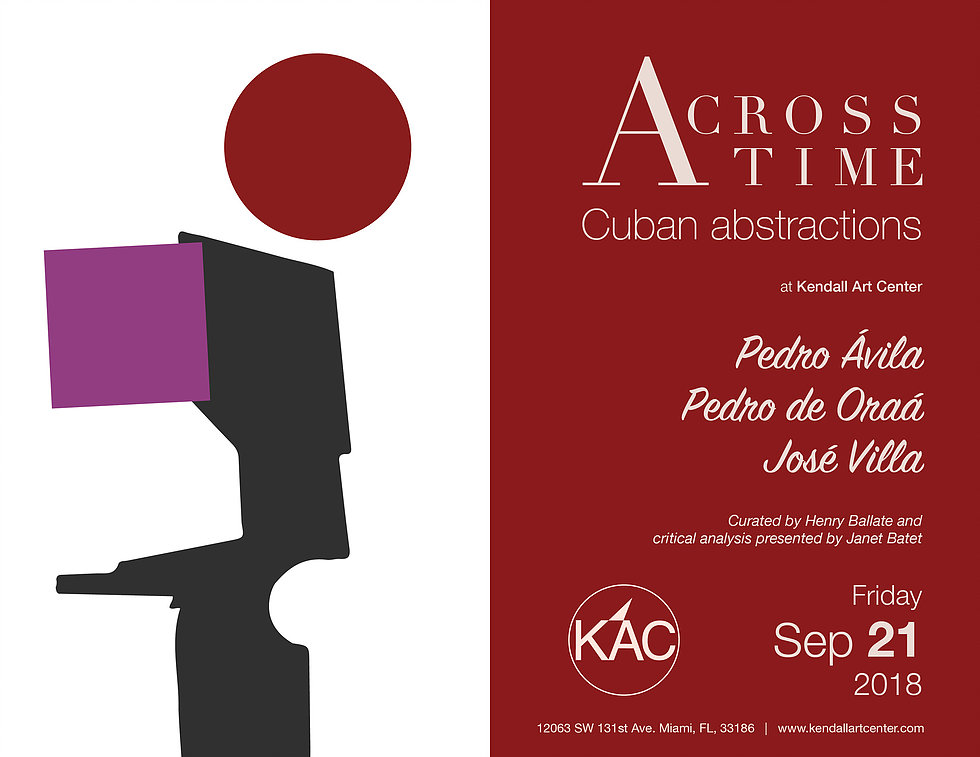 Across Time: Cuban Abstractions