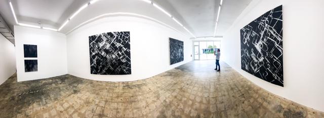Lynne golob Gelfman: Wall Works, Tile Blush, Miami