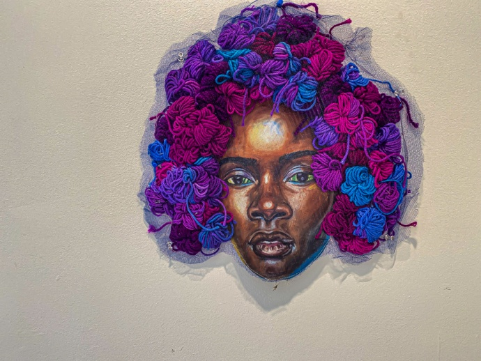 "Ambrose Murray ""Violet"" N'Namdi Contemporary, Miami"