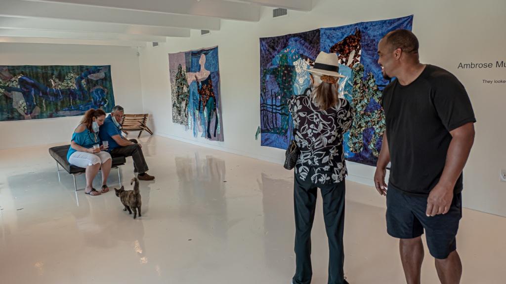 "Ambrose Murray ""Violet"" N'Namdi Contemporary, Miami"