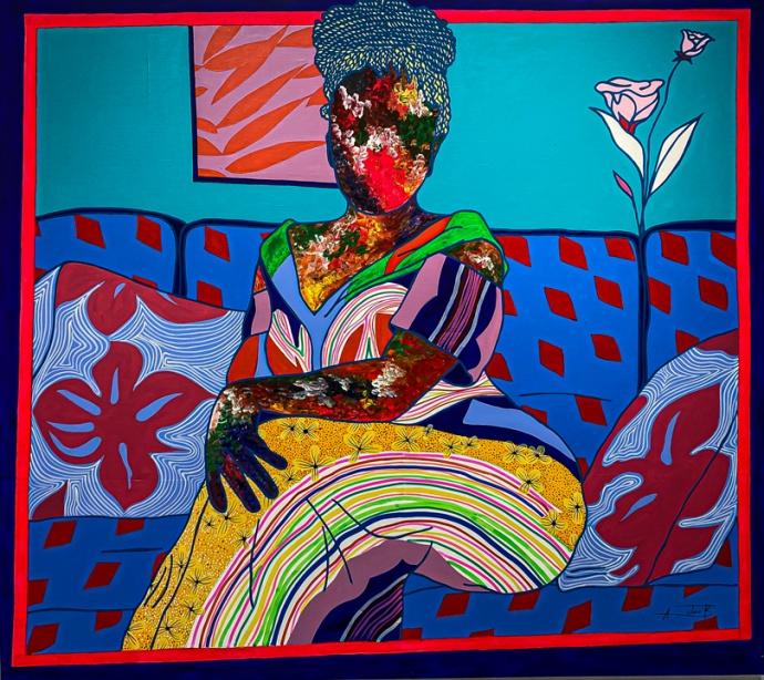 "Ajarb Bernard Ategwa ""Sweet Flowers of Douala"", FREDRIC SNITZER GALLERY"